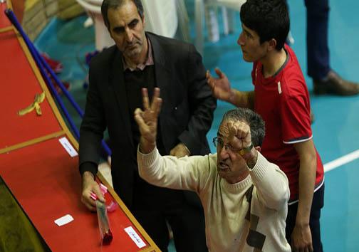 گزارش تصویری حواشی دیدار والیبال پیکان و شهرداری