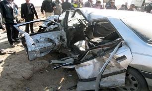 برخورد مرگبار پژو با پیکان/ 5 تن کشته و مجروح شدند