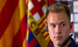 سنگربان باشگاه بارسلونا: هارت یک دروازه بان کلاس جهانی است