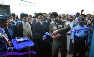 نمایشگاه بزرگ هوایی راهیان نور پایگاه شکاری وحدتی دزفول افتتاح شد