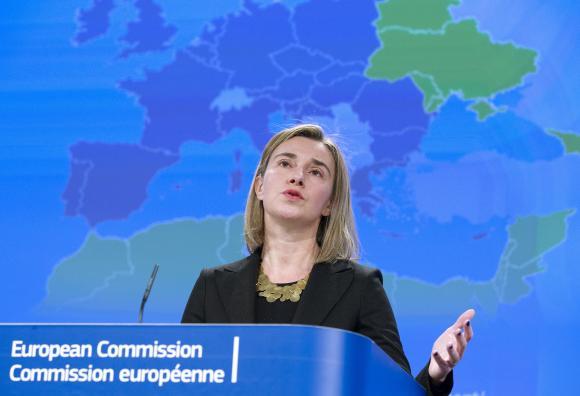 دیدار فدریکا موگرینی با سران اتحادیه اروپا