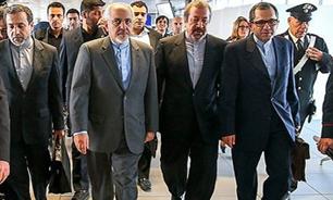 تیم مذاکرهکننده ایران برای بازگشت به تهران به فرودگاه ژنو عزیمت کردند