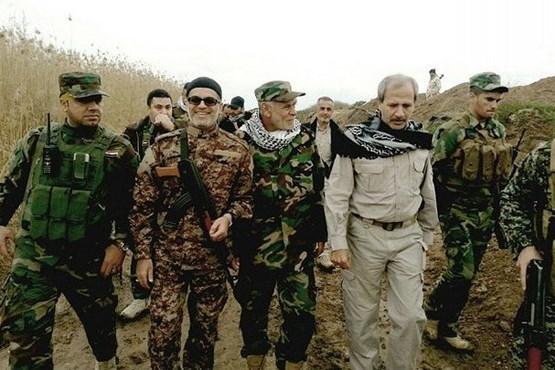 مداح معروفی که مدافع حرم شد +عکس