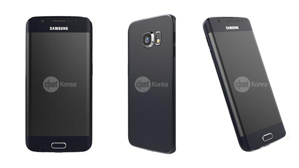 تصاویر تاییده شده Galaxy S6 Edge با نمایشگر خمیده