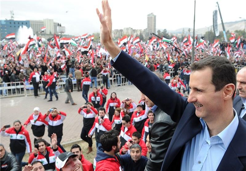 رئیسجمهوری پیروزی بشار اسد در انتخابات ریاستجمهوری سوریه را تبریک گفت