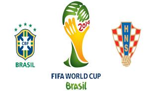 امشب ساعت 23:30 همراه با مراسم افتتاحیه تقابل جوکوبونیتو برزیلی برابر فوتبال مدرن اروپا / برزیل – کرواسی بازی افتاحیه را انجام خواهند داد