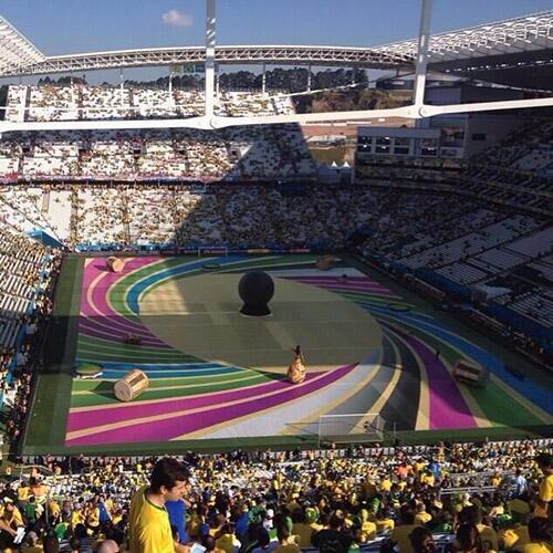 عکس های افتتاحیه جام جهانی 2014