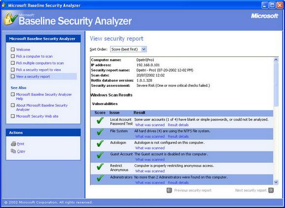 وضعیت امنیتی رایانه تان در چه حدی است؟ + دانلود نرم افزار