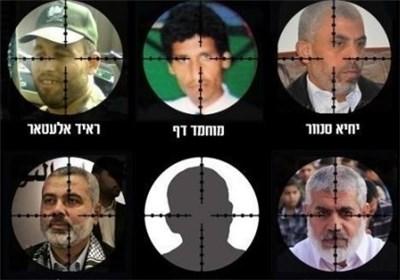 رهبران فلسطینی که در فهرست ترور اسراییل قرار دارند+عکس