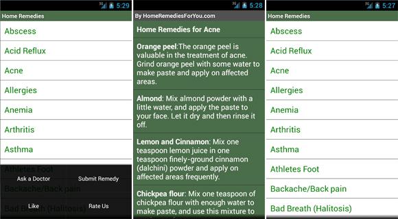 برنامه Home Remedies+دانلود