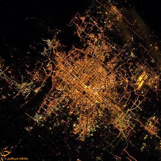 تصاویر شهرهای بزرگ جهان از ایستگاه فضایی بینالمللی