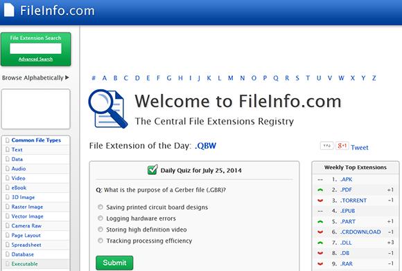 شناسایی پسوند و فرمت فایل