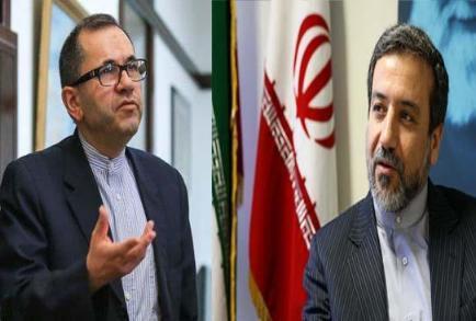 پایان دور اول مذاکرات معاونان وزرای خارجه ایران و آمریکا