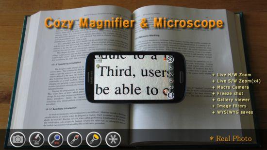 Magnifier & Microscope APK