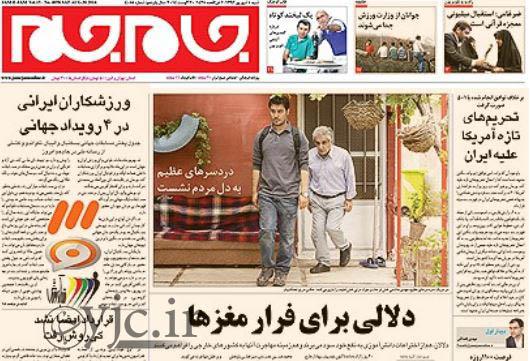 2550487 505 صفحه اول روزنامه های ورزشی، سیاسی و اقتصادی شنبه 8شهریور
