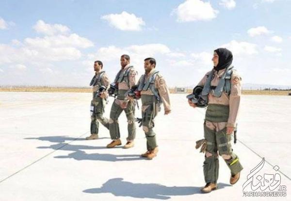اولین خلبان زن اماراتی در جنگ علیه داعش+عکس