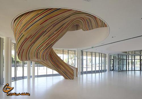 نقشه ساختمان زیبا طراحی ساختمان ساختمان مدرن ساختمان زیبا