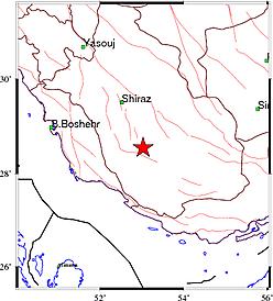 زلزله ۴٫۹ ریشتری فارس را لرزاند + جزئیات