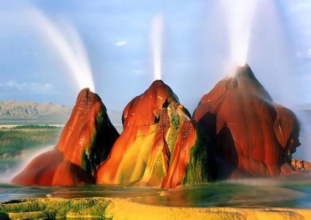 کانو کریستال زیباترین مناطق گردشگری درب جهنم جاذبه گردشگری جاذبه توریستی
