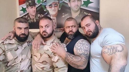 اخبار تصویری,مردان ارتش سوریه با عضلات عجیب