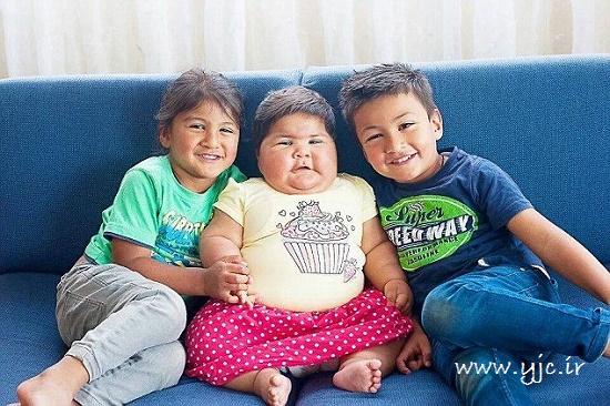 کودکی با رشد باورنکردنی +عکس