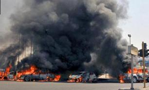 انفجار خودرو در عرسال در لبنان