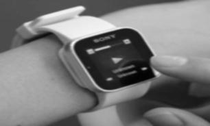 ساعت سونی از جنس کاغذ الکترونیکی
