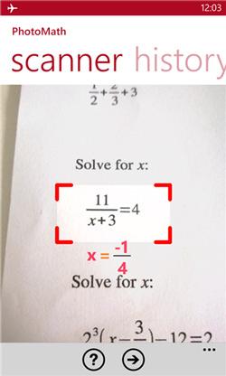 حل معادلات ریاضی در کمتر از 5 ثانیه+دانلود