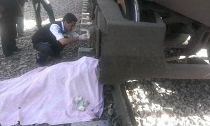 قطار تهران -  مشهد جان مرد 34 ساله را گرفت/ تلاش برای شناسایی جسد ادامه دارد