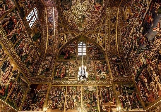 سنت استپانوس کلیسایی در قلب کوهها + تصاویر