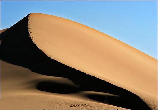 دریای شنی در مصر + تصاویر