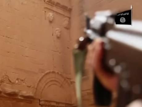 داعش بناهای تاریخی شهر هترا را ویران کرد / عکس