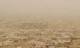 کرمانشاه دومین استان درگیر ریزگرد
