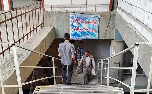 آخرین وضعیت صحن حضرت زهرا (س) + گزارش تصویری