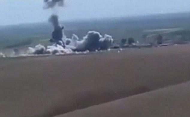 تصاویری هیجان انگیز از انفجار یک خودروی انتحاری داعش