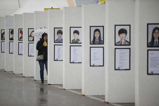 عصبانیت مردم کره جنوبی از لغو مراسم سالگرد دانش آموزان غرق شده