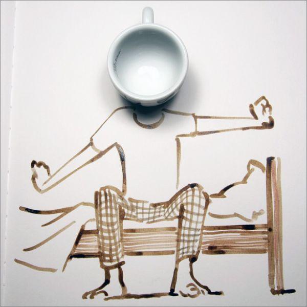 خلاقیت با نقاشی و اشیا