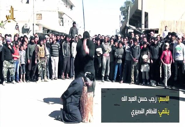 داعش 6 سرباز سوری را گردن زد + عکس