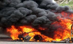 قاچاق مرگبار اتباع افغان در جاده بم/ 10 تن در میان شعلههای آتش سوختند