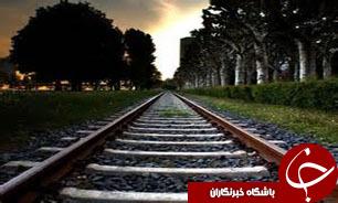 پيشرفت 30 درصدي خط آهن يزد - اقليد