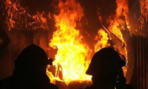 انفجار و حریق در پی ترکیدن کمپرسور یخچال/ صاحبخانه دچار سوختگی شد