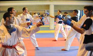 کبکانیان محل برگزاری انتخابی تیم ملی بزرگسالان کاراته مردان