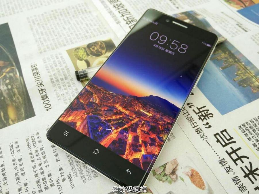 تصاویر جدید از گوشی بدون لبه Oppo R7 به بیرون درز کرد + تصاویر