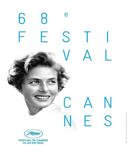 3060440 673 - رونمایی از پوستر جشنواره فیلم کن 2015/ عکس اینگرید برگمان روی پوستر
