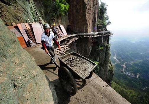 عکس/ خطرناکترین و ترسناکترین شغل دنیا