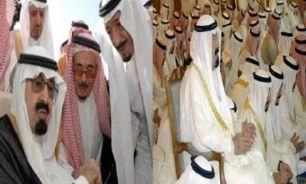 صدور دستور حبس شماری از شاهزادگان سعودی