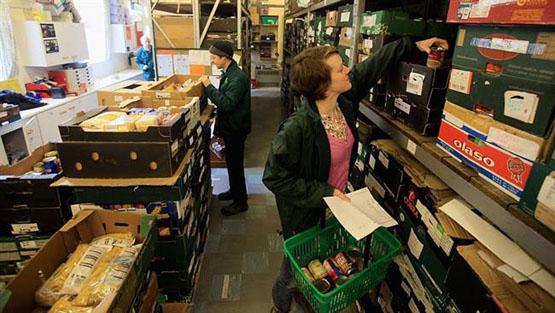 900 هزار انگلیسی نیازمند دریافت کمک غذایی هستند