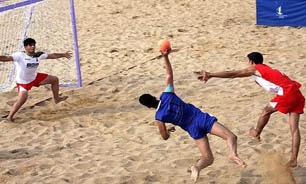 تیم ملی هندبال ساحلی به مسابقات قهرمانی آسیا اعزام می شود