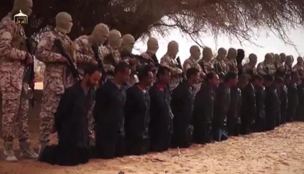 انتشار فیلم اعدام مسیحیان اتیوپیایی به دست داعش/ تصويري