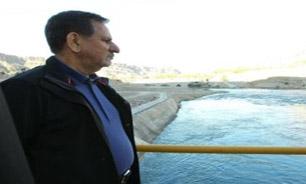 شبکه آبیاری و زهکشی دویرج دهلران در ایلام بهره برداری شد